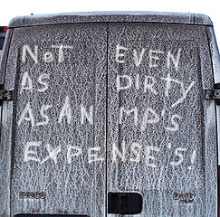 Photo by Clare Bell, 2009, Flickr: Dirty van @ Creative Commons