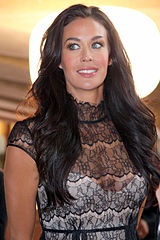 Megan Gale @ Australia's Next Top Model. Wikimedia Commons