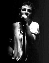 Bruce Springsteen, Drammenshallen, Norway, 1981. Wikimedia Commons